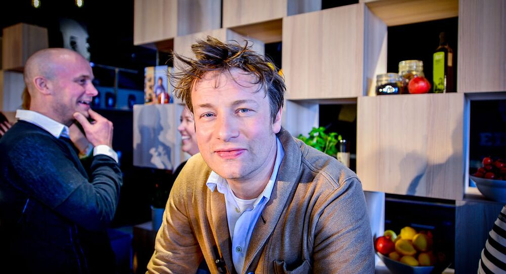 British Chef Jamie Oliver