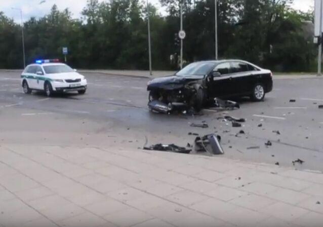 NATO accident