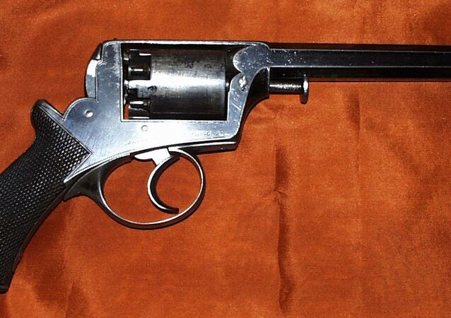 Adams revolver An Improved Frame Model of 1854