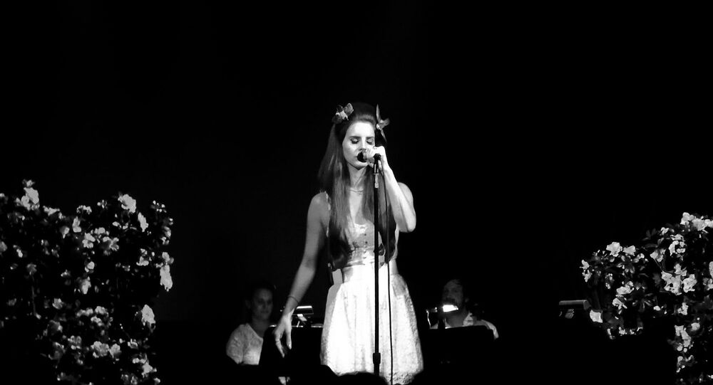 Lana Del Rey performing at Irving Plaza in 2012