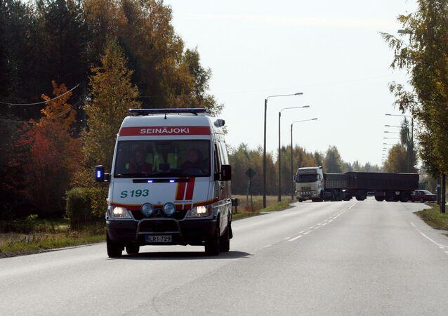 Finnish ambulance (File)