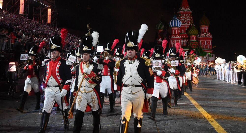 Int'l Military Music Festival 'Spasskaya Tower' Starts in Moscow