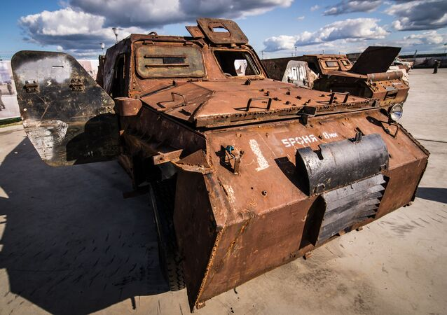 Spoils of War: Russia Displays Weapons Seized From Syrian Militants