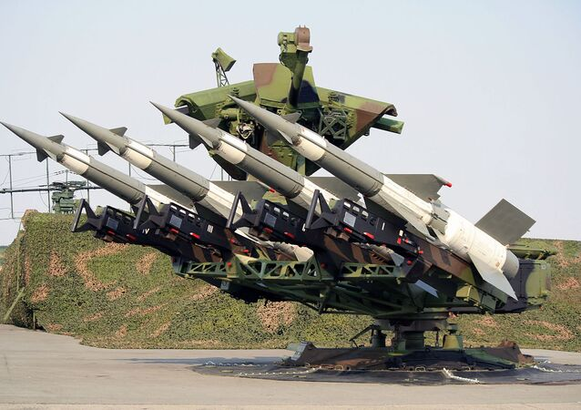 S-125 Neva air defense system