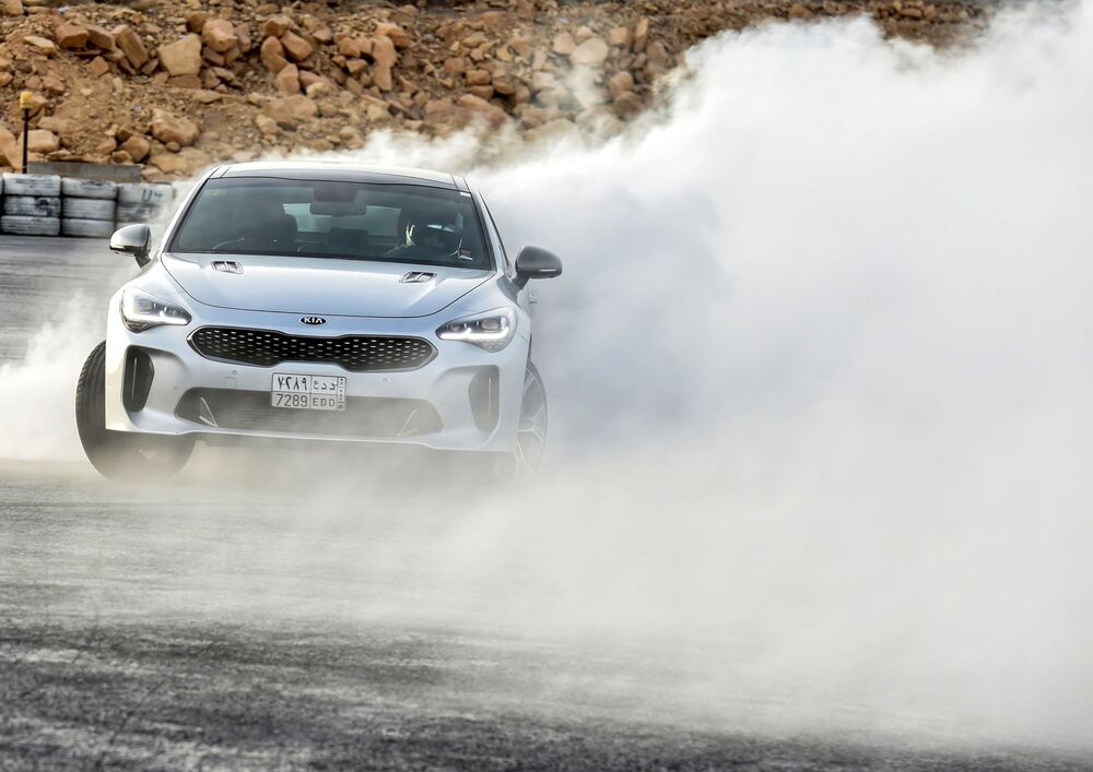 High-Speed Beauty: Meet the Gorgeous Car Racing Lady From Saudi Arabia