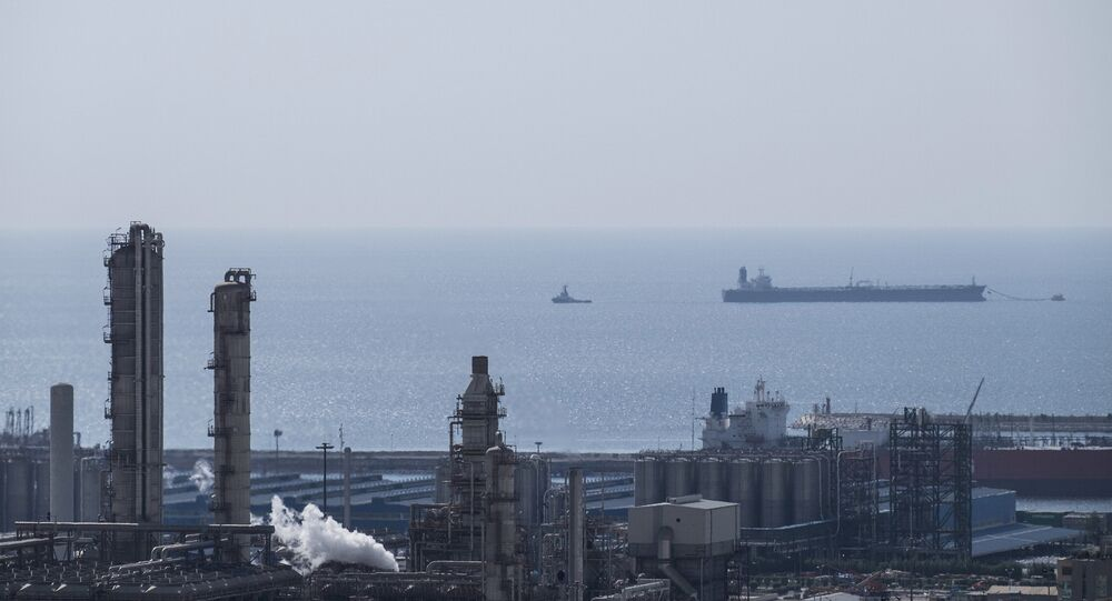 A general view shows a unit of the South Pars gas field in Asalouyeh Seaport, north of the Gulf, Iran November 19, 2015