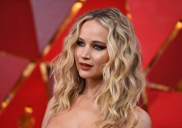 US actress Jennifer Lawrence arrives for the 90th Annual Academy Awards on March 4, 2018, in Hollywood, California.