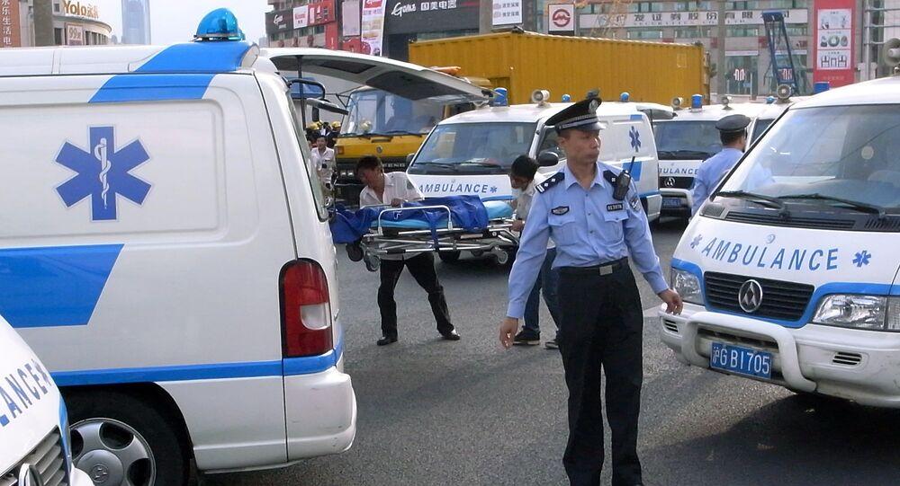 Two children die in stabbing at China kindergarten BBC News