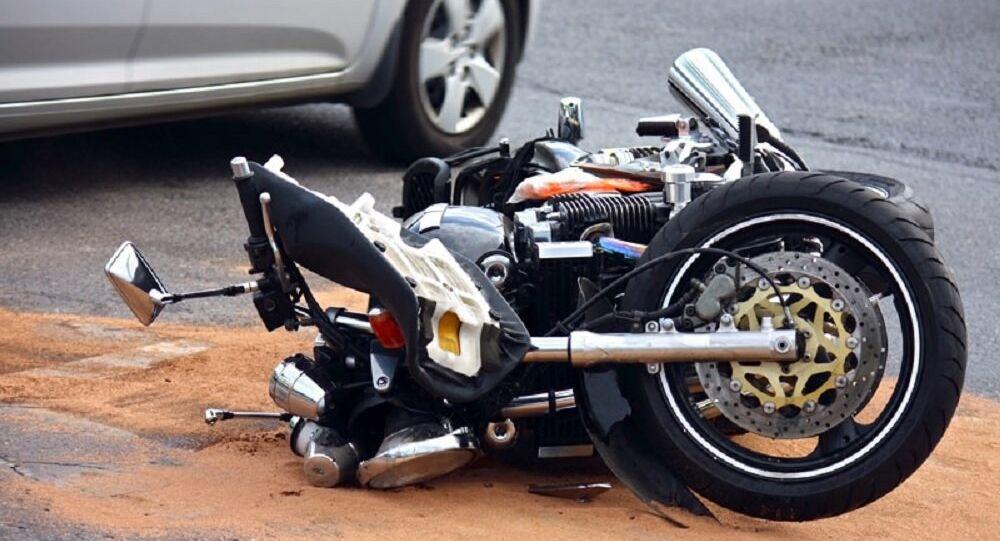 Akt motorcycle crash