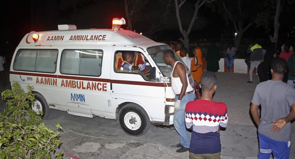 Somalia ambulance