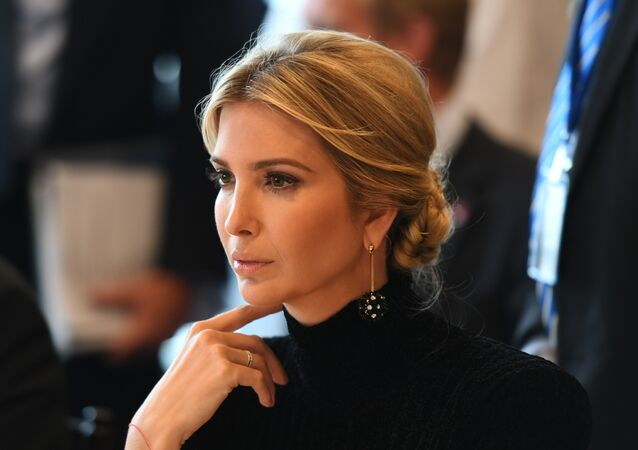 Ivanka Trump attends the event A Call to Action to End Forced Labour, Modern Slavery and Human Trafficking on September 19, 2017 at the United Nations in New York.