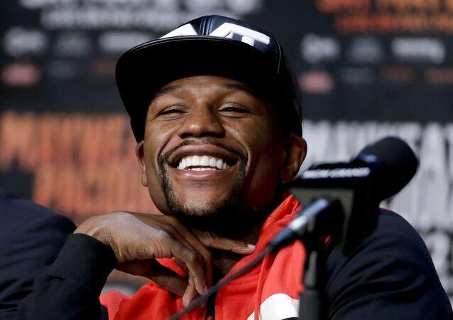 Boxer Floyd Mayweather Jr.