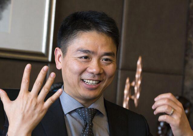 Richard Liu, founder of JD.com