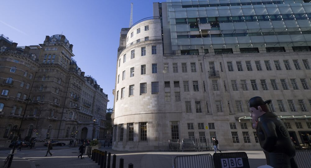 BBC HQ Broadcasting House, London