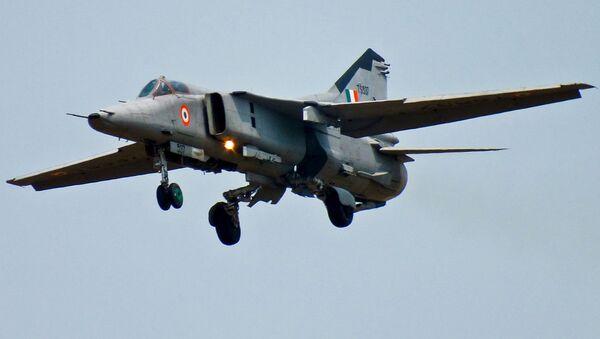 MiG-27 from No.18 Squad, Kalaikunda - Sputnik International