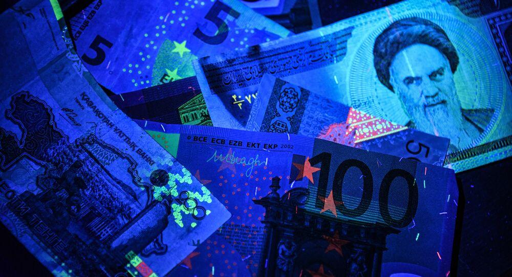 Euro- und Rial-Banknoten (Symbolbild)
