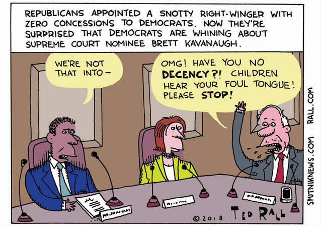 Kavanaugh Craze: The First Day