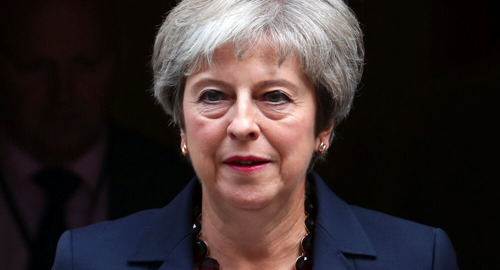 Britain's Prime Minister Theresa May leaves 10 Downing Street in London, September 5, 2018.