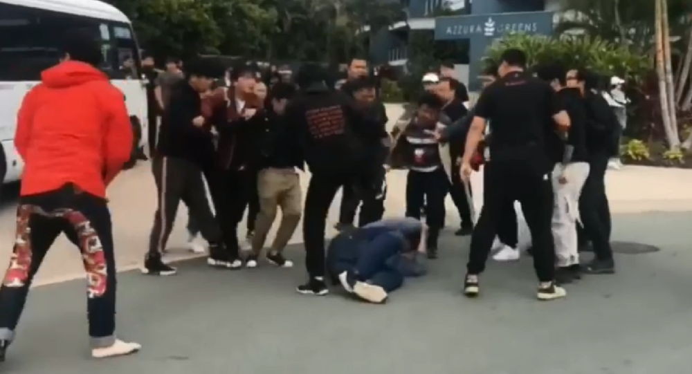 Film crew with popular Chinese boy band, Nine Percent, get into brawl with fans in Australia