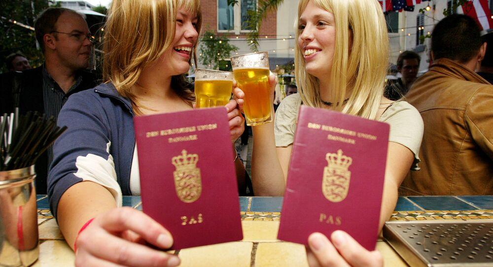 Danish passports (File)