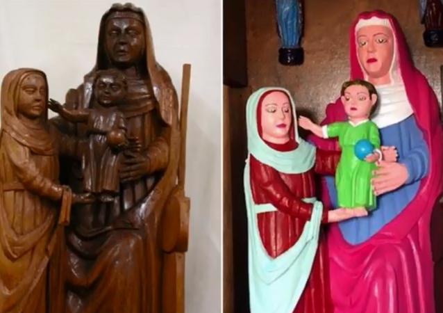 Another chapel in Spain sees botched restoration of centuries-old sculptures