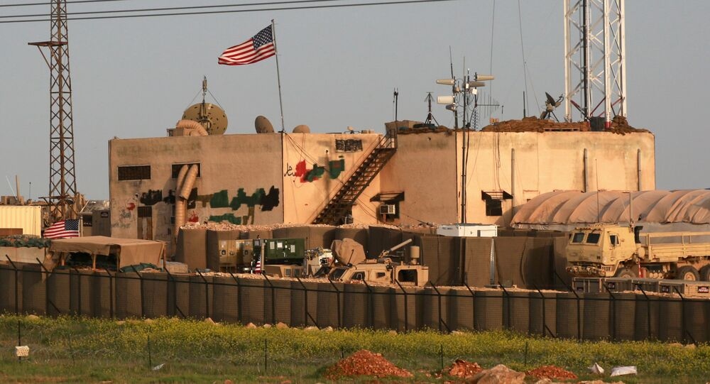 US military base in the al-Asaliyah village, Syria