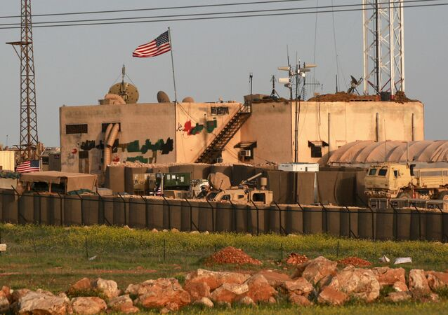 US military base in the al-Asaliyah village, Syria