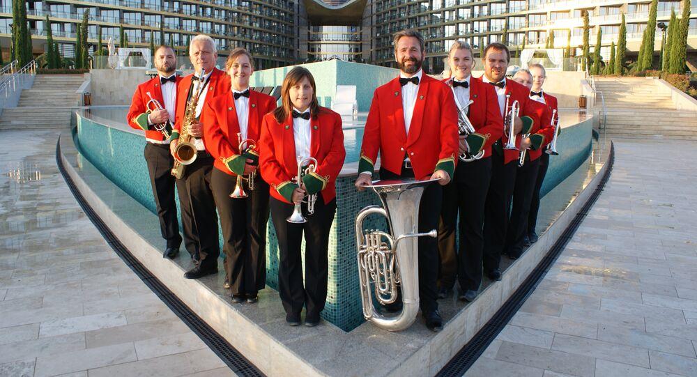 Symphonic Brass Wales in Yalta