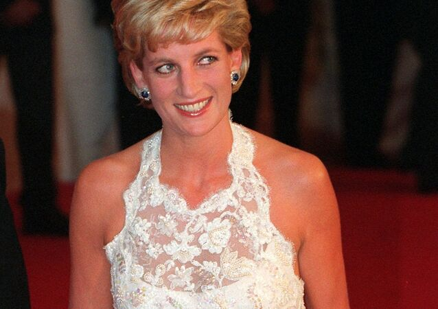Diana, Princess of Wales, arrives for dinner in Washington in this Tuesday Sept. 24, 1996