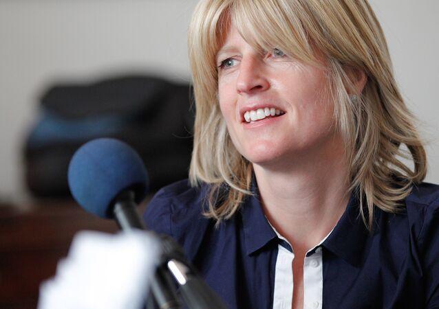 Journalist Rachel Johnson