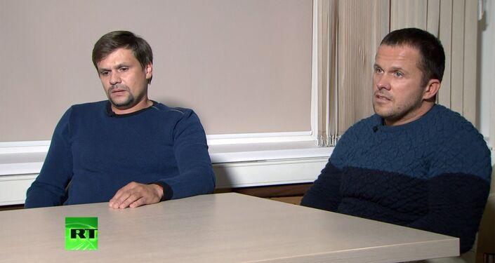 Interview with alleged Salisbury 'suspects'
