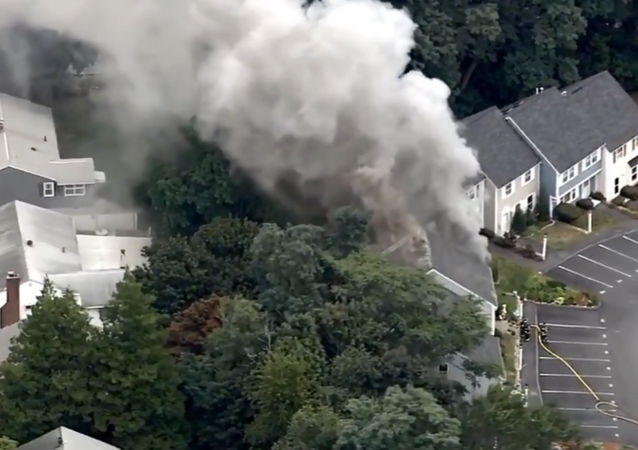 Several homes in Massachusetts catch on fire, gas line issues suspected.