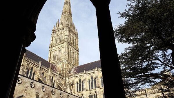 The view of Salisbury cathedral - Sputnik International