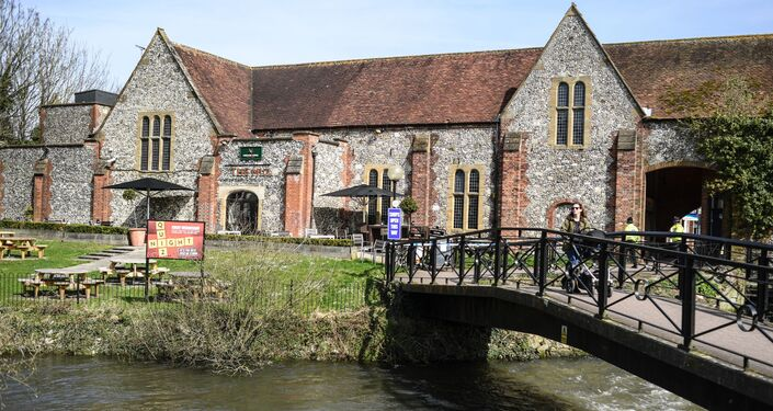 The Mill pub in Salisbury