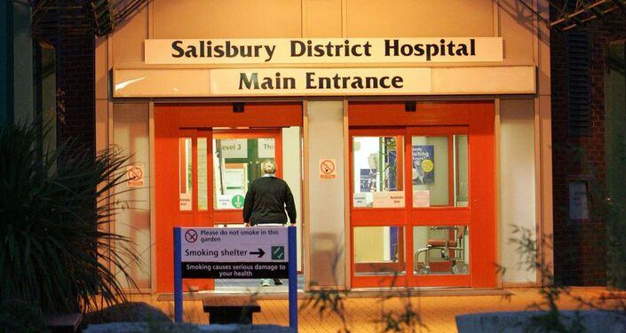 Main entrance of Salisbury District Hospital