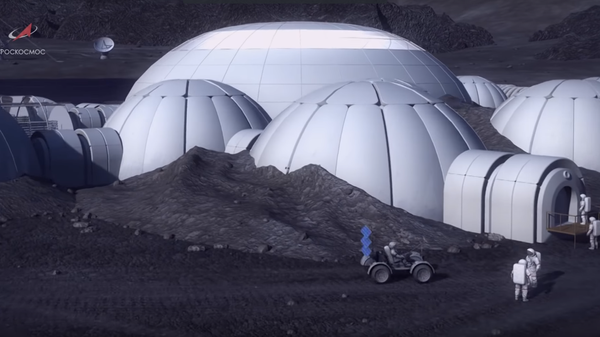 Russian Moon base plans - Sputnik International
