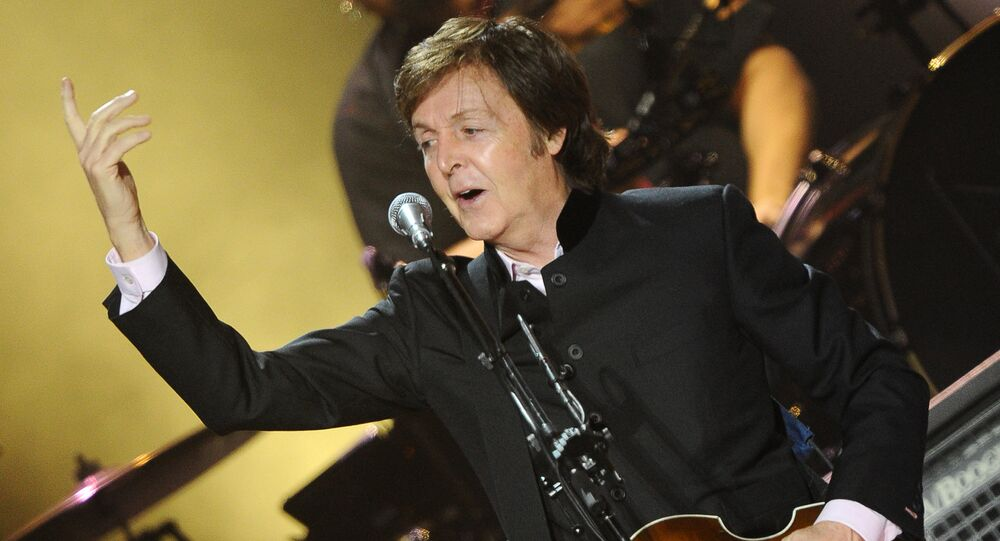 British musician and singer Paul McCartney (File)
