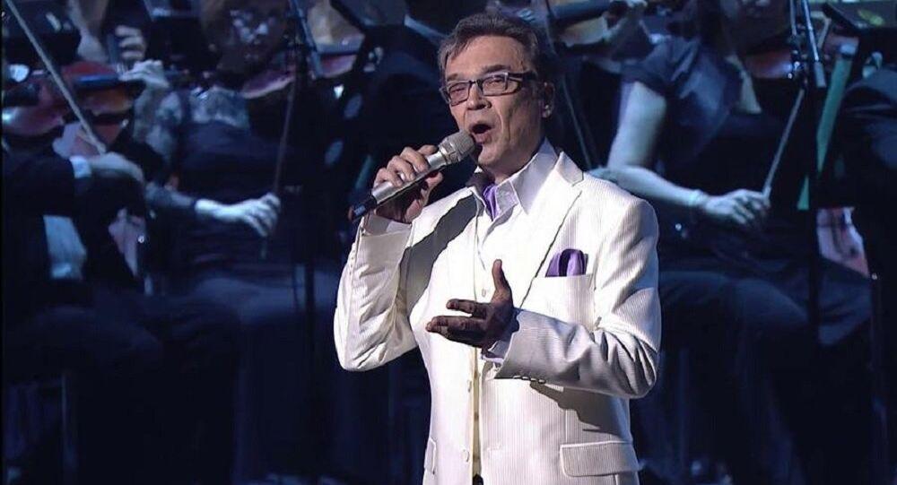 Russian Singer Mikhail Lukonin