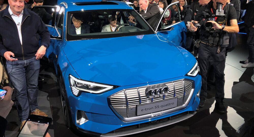 Audi E-tron Sport Utility Vehicle