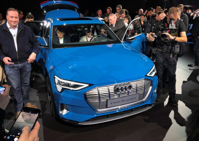 Audi E-tron Sport Utility Vehicle