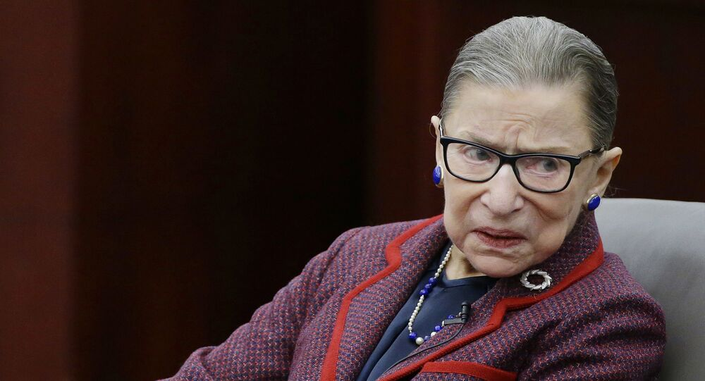 Justice Ruth Bader Ginsburg hospitalized for 'treatment of possible infection'