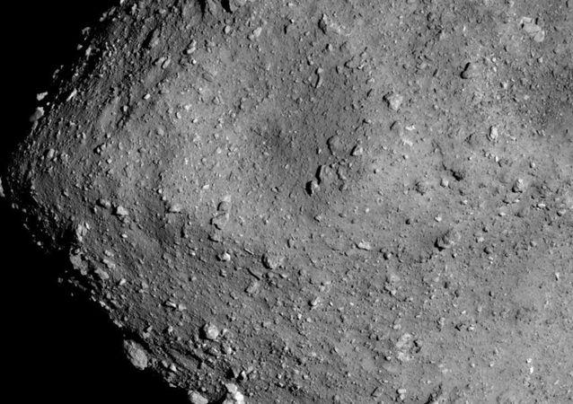 Asteroid Ryugu from Hayabusa2