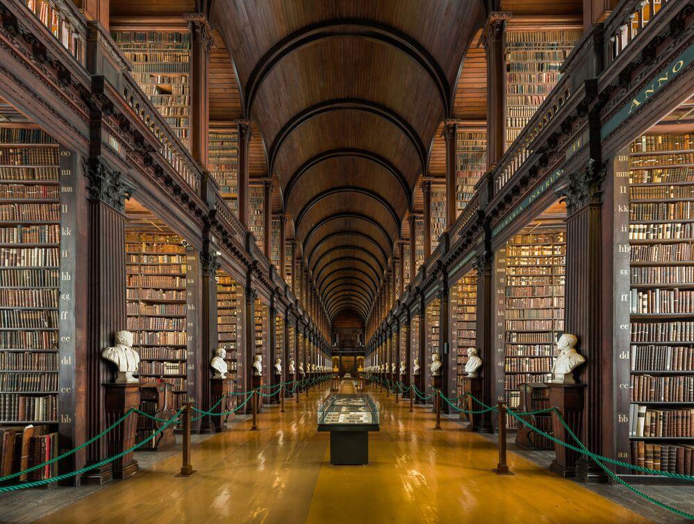 The Library of Trinity College Dublin, Ireland