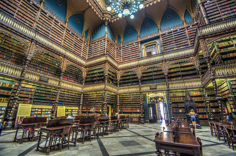 Royal Portuguese Cabinet of Reading in Rio de Janeiro, Brazil