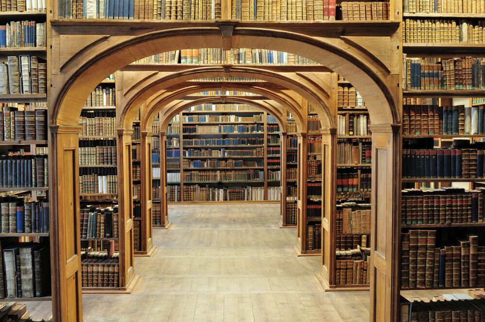 Science library of Upper Lusatia in Görlitz, Germany.
