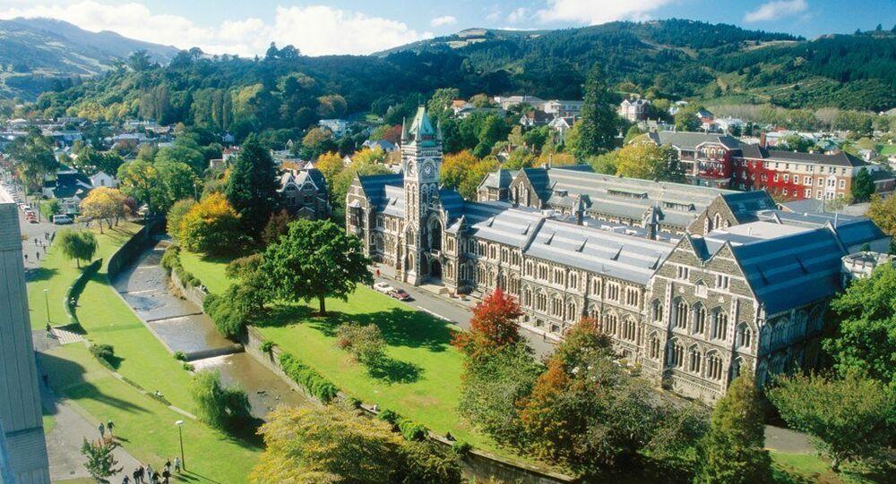 University of Otago in Dunedin, New Zealand.