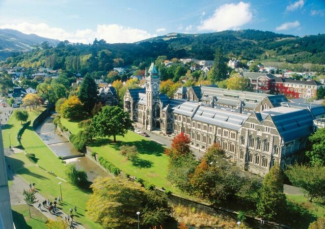 University of Otago in Dunedin, New Zealand.