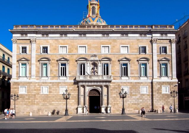 The Catalan government's headquarters, Generalitat