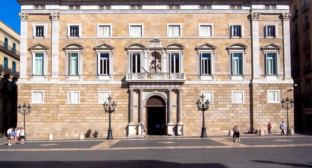 The Catalan government's headquarters, Generalitat