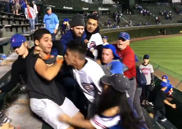 Fight breaks out at Chicago Cubs game after racial slurs are thrown out